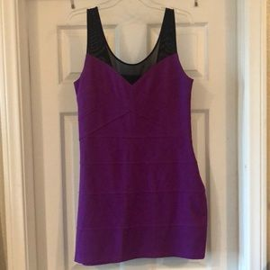 Large Magenta Purple Express Dress